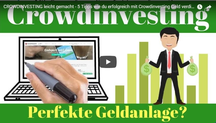 Crowdinvesting leicht erklärt